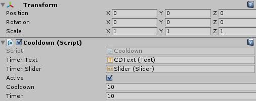 Unity Cooldown Tutorial