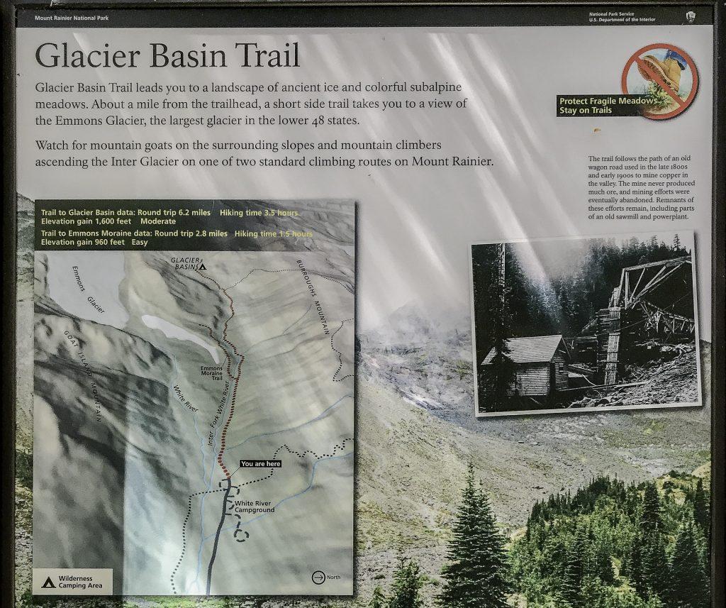 Glacier Basin Trail Head