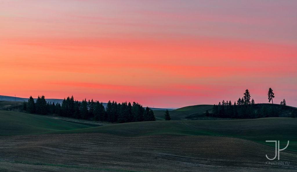 Graceful Sunrises are quite the norm in Palouse