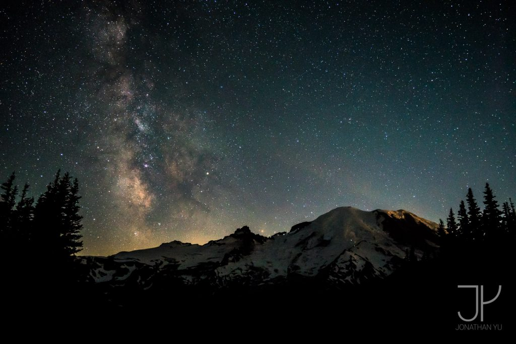 Ranier makes even the brightest of stars look a bit dimmer!