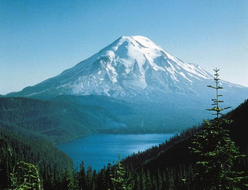Mount St. Helens prior to1980 erruption