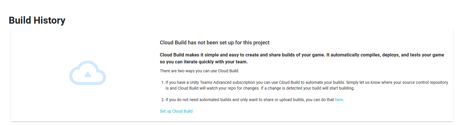 Unity Cloud Build Tutorial and Review