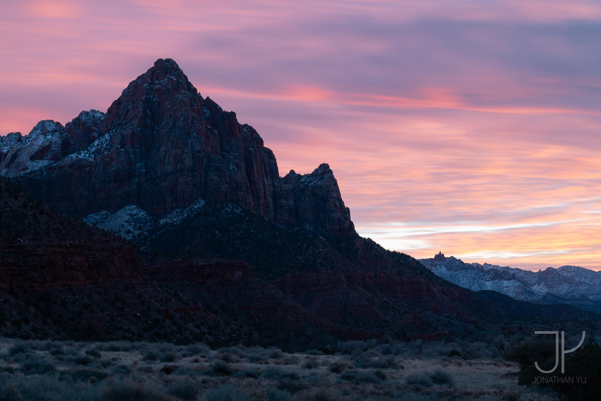 Watchman Sunset