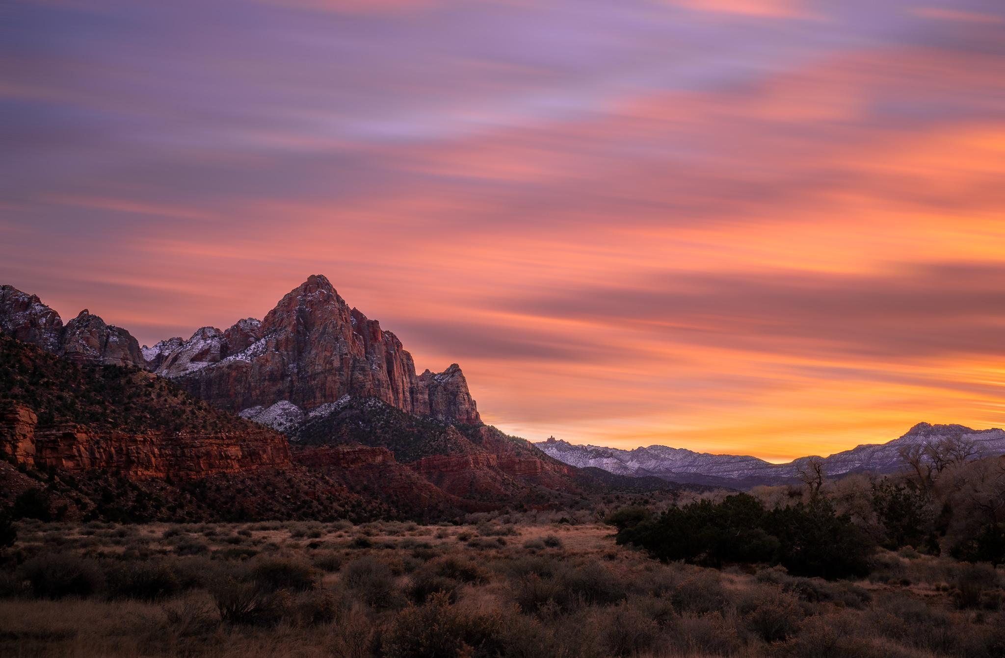 Zion National Park Sunset