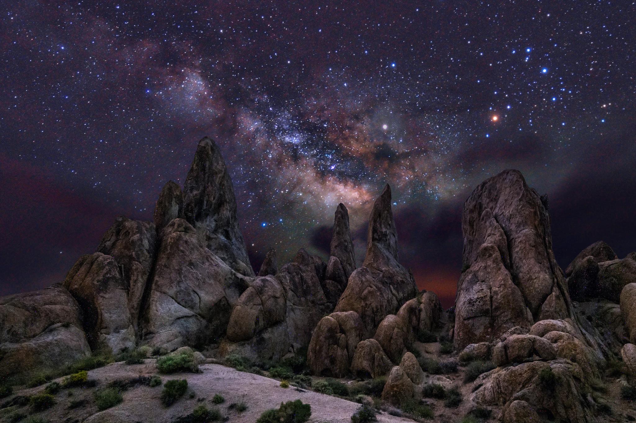 Alabama Hills Milky Way