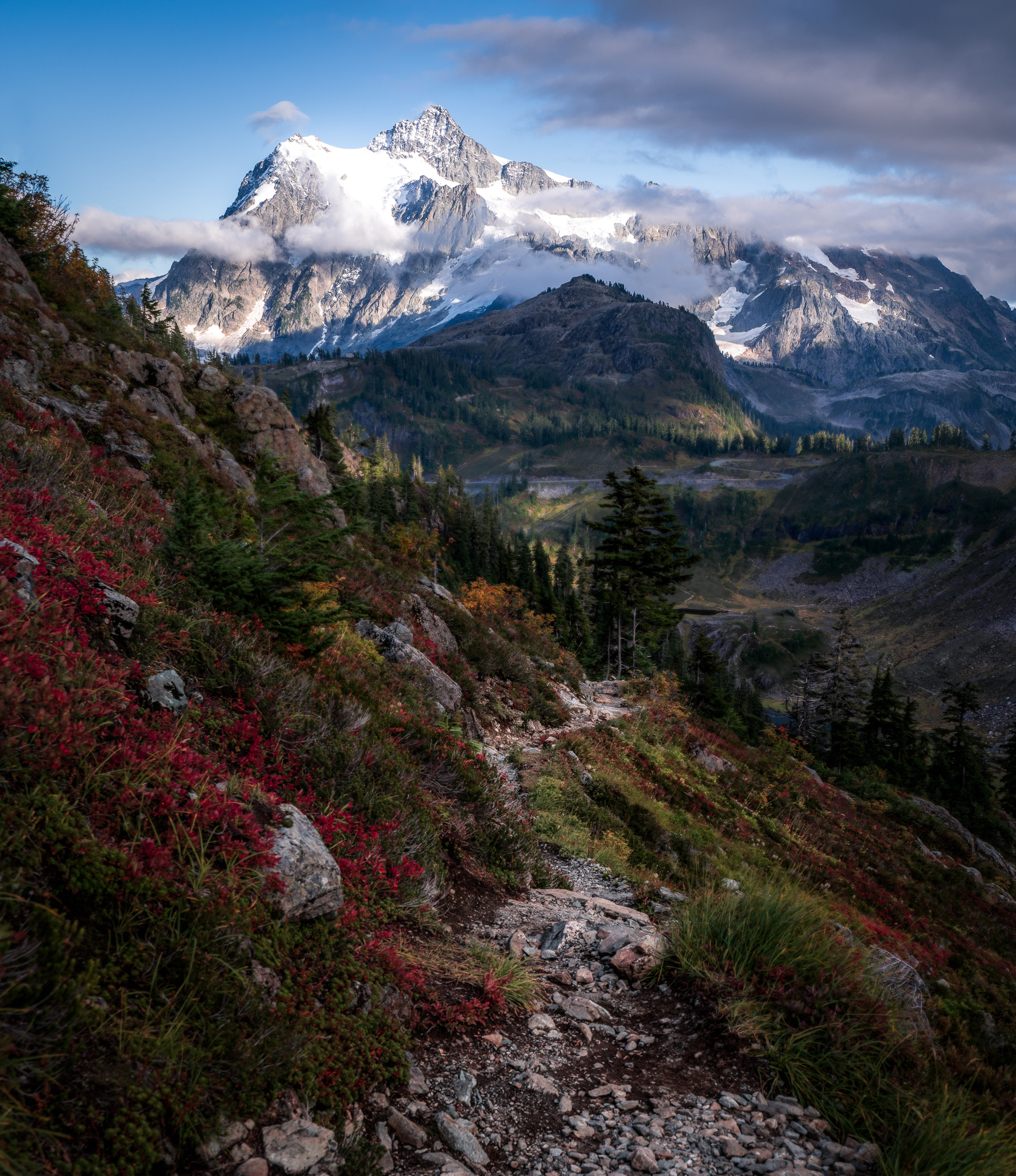 Fall and Mt. Shuksan