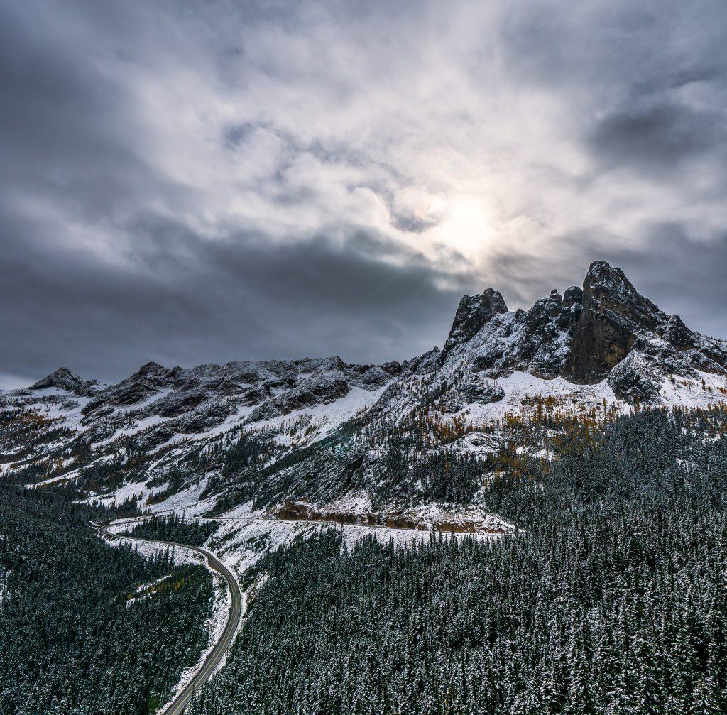 Washington Pass in the Fall